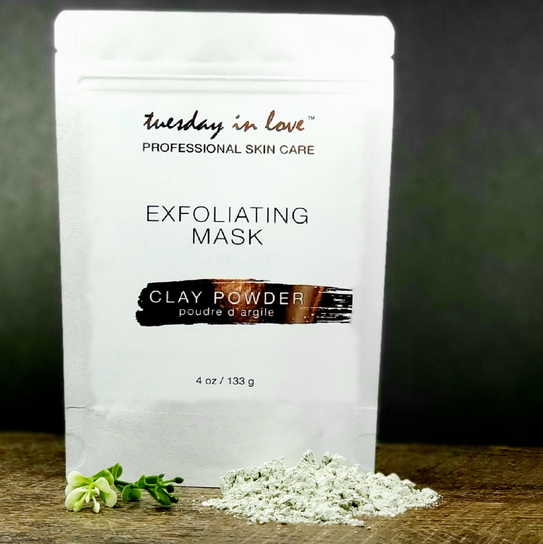 Exfoliating Clay Powder Mask