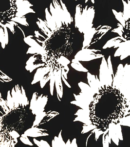 Black and White Sunflowers - Limited Edition - Tuesday in Love Halal Nail Polish & Cosmetics