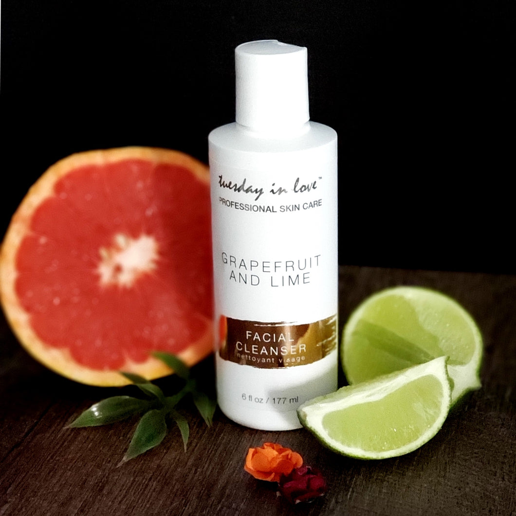 Grapefruit & Lime Facial Cleanser - Tuesday in Love Halal skin care