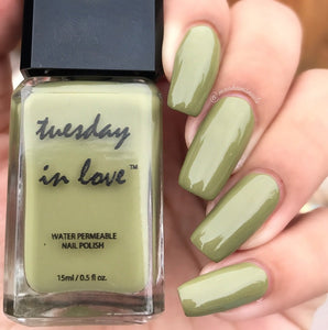 3 Color Gift Set - Green - Tuesday in Love Halal Nail Polish & Cosmetics