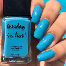 3 Color Gift Set - Blue - Tuesday in Love Halal Nail Polish & Cosmetics