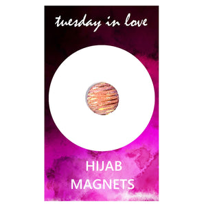 Pink Sparkle Hijab Magnets