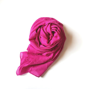 Purple Cotton Hijab