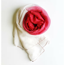 Red and White Ombre Hijab - Tuesday in Love Halal Nail Polish & Cosmetics