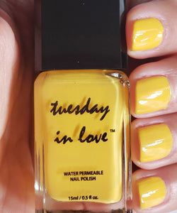 Sunshine - Tuesday in Love Halal Nail Polish & Cosmetics