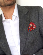 Love for Him - Red Vintage Pocket Square - Tuesday in Love Halal Nail Polish & Cosmetics