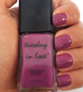 Zayn's Girl - Tuesday in Love Halal Nail Polish & Cosmetics