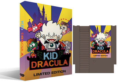 Kid Dracula Limited Edition Complete Box Set