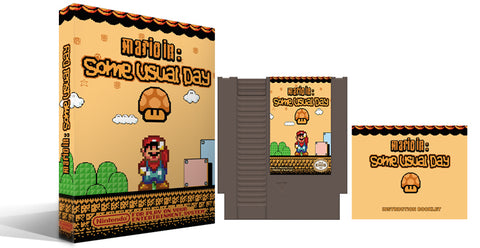 "Mario In: ""Some Usual Day"" NES Complete Box Set"