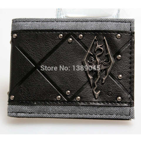 Skyrim The Elders Scroll Bi-Fold Wallet