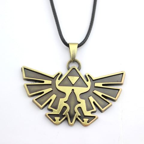 The Legend Of Zelda Themed Pendant Antique Bronze Necklace