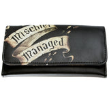 Harry Potter Marauder's Map Mischief Managed Long Flap Wallet