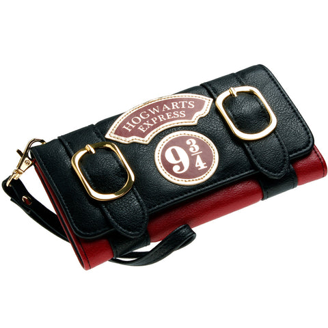 Harry Potter Hogwarts Express Platform 9 3/4 Double Buckle Flap Wallet