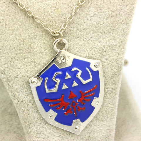 The Legend Of Zelda Themed Enamel Necklace