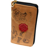 Harry Potter Owl Post Letter Zip Around Wallet