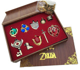 The Legend of Zelda Themed 7pc Pendant Set for Necklace