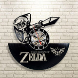 Vinyl Record Wall Clock The Legend of Zelda- Handmade