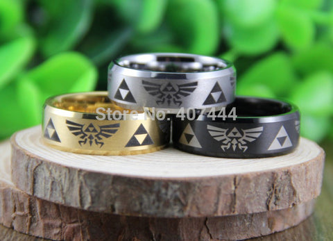 Legend of Zelda Themed Ring Choice of 3 Colors