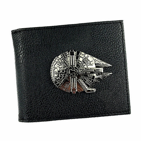New Star Wars Bi-Fold Wallet Millennium Falcon Design
