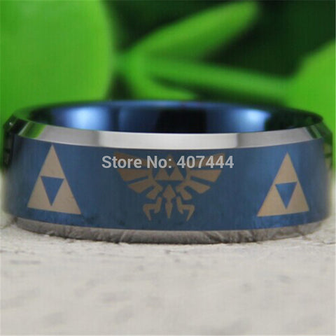 Legend of Zelda Theme Ring 8MM
