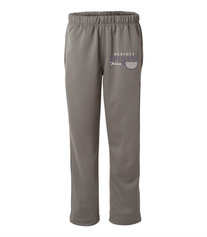 Hershey Trojans Polyester Open Bottom Sweatpants