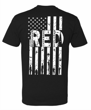 Remember Everyone Deployed Patriotic Tee