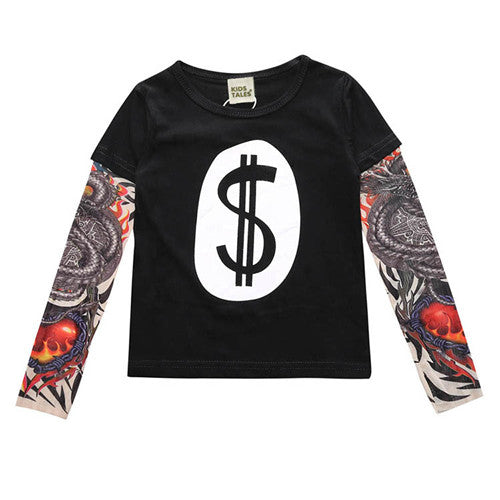 Dollar Baby Tattoo Long-Sleeve - Jantors