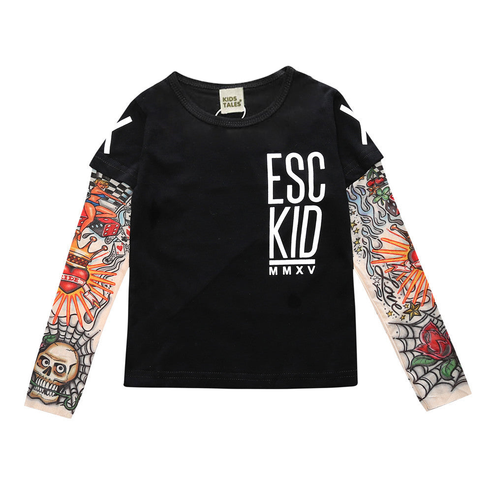 ESC Kid Baby Tattoo Long-Sleeve - Jantors