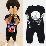 Tattoo Long Sleeve Baby Romper