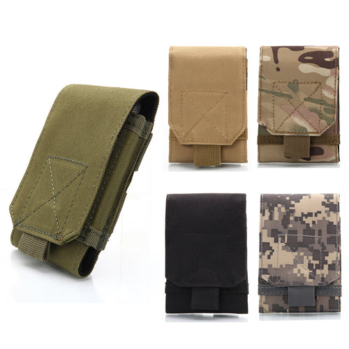 Universal Tactical Phone Pouch - 2 Sizes - MOLLE System
