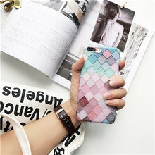 Colorful Fish Scale Pattern Phone Case
