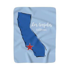Los Angeles Fleece Blanket