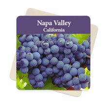 Napa Valley, CA Square Paper Coaster Set - 6pcs