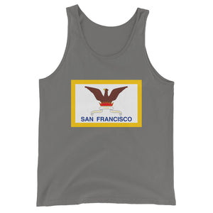 San Francisco Flag Unisex Tank Top