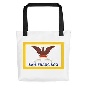 San Francisco Flag Tote bag