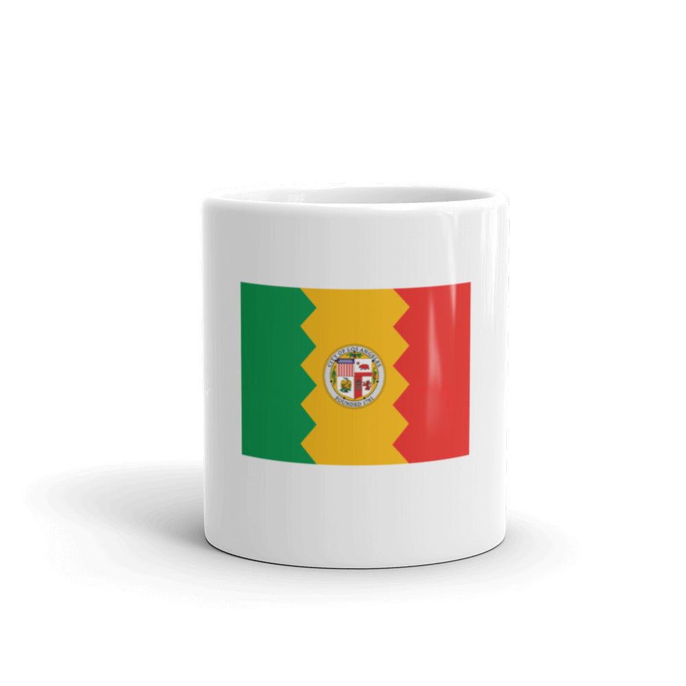 Los Angeles Flag Mug