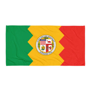 Los Angeles Flag Towel
