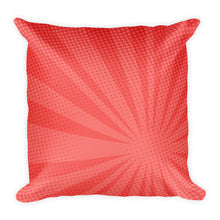 Red Wine Lover Square Pillow
