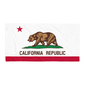 California State Flag Towel