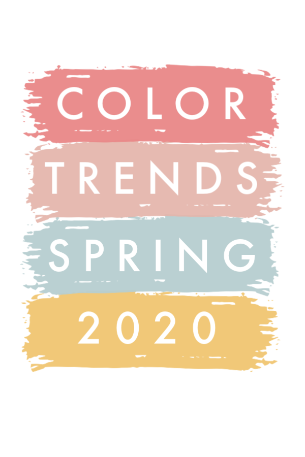 Biggest Color Trends to Look Forward To in Spring/Summer 2020