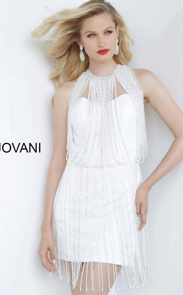 Jovani 00570 Off White