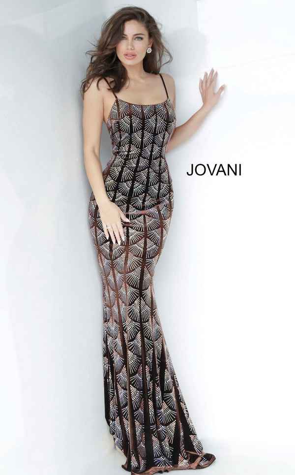 Jovani 00993 Coffee