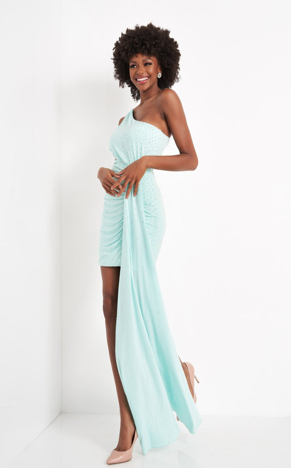 Jovani 04153 Dress Mint