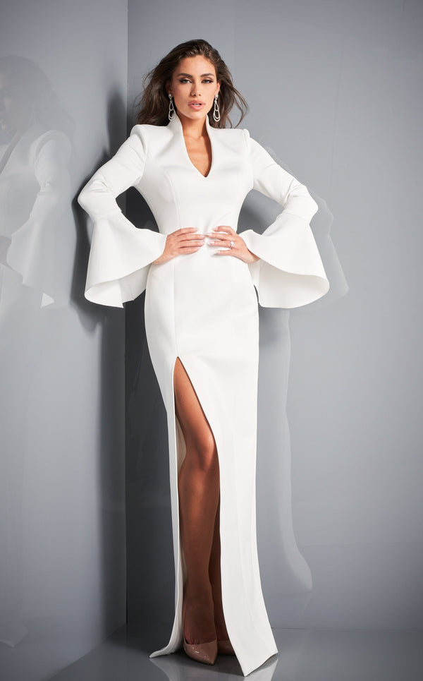 Jovani 04240 Dress White