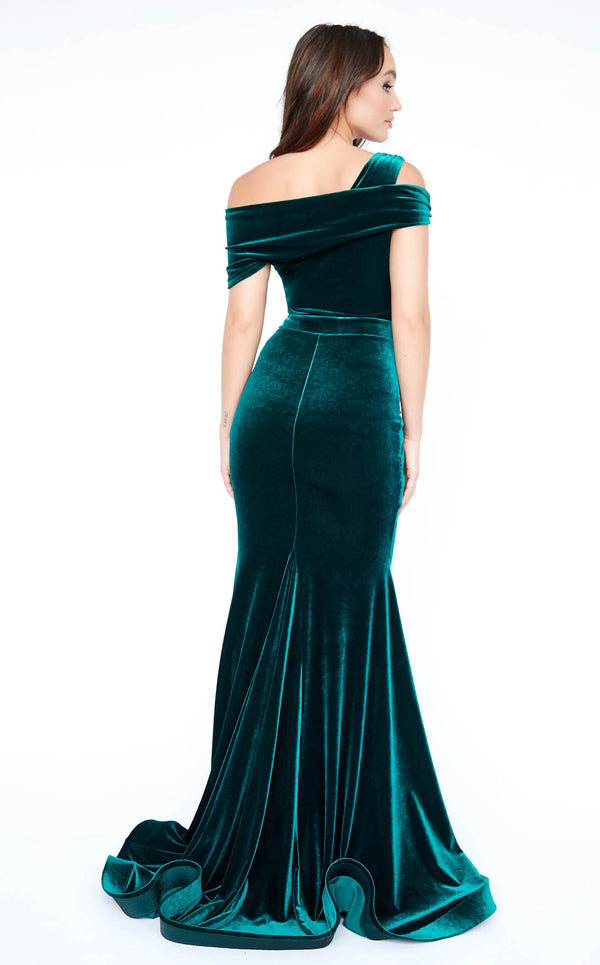 Evaje 10004 Dress Green