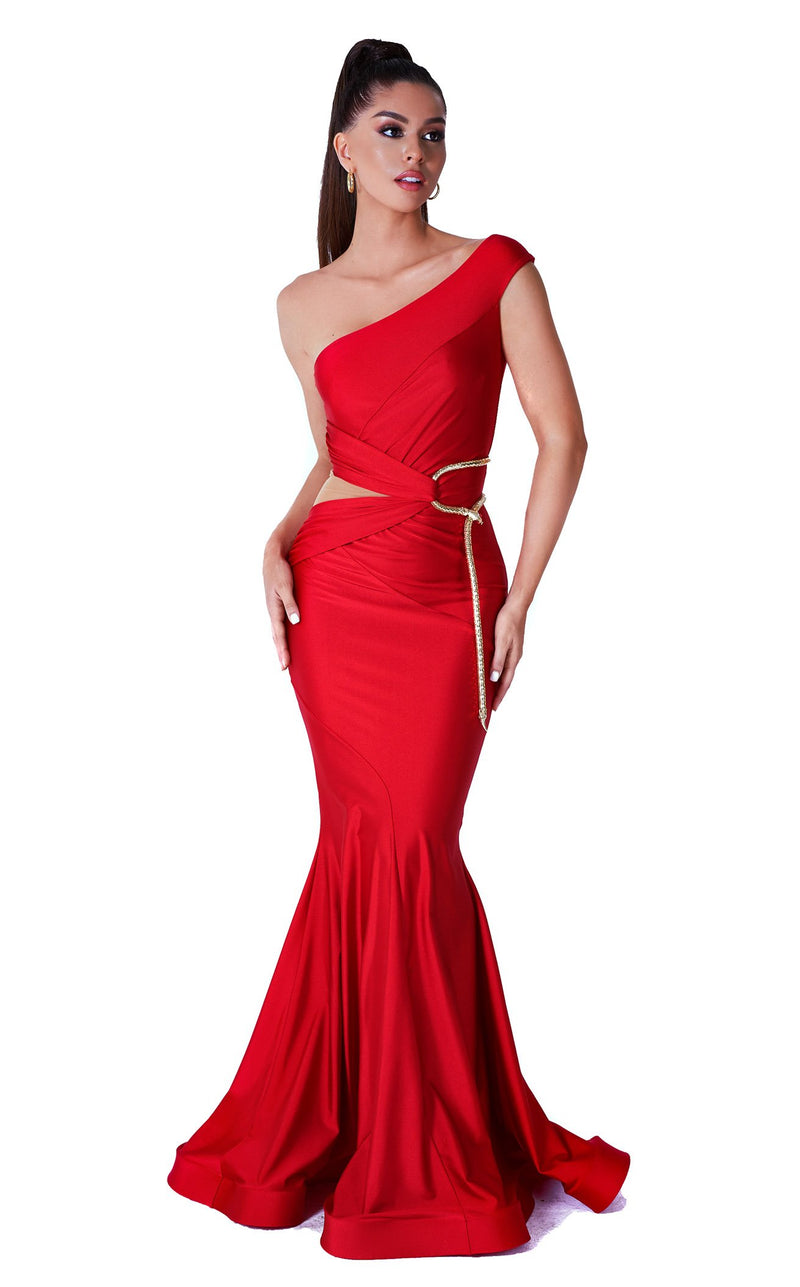 Evaje 10012 Dress Red
