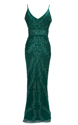 Paul Rekhi 1002 Dress Green