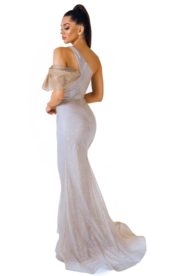 Evaje 10038 Dress Gold-Ombre