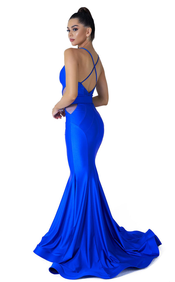 Evaje 10040 Dress Royal