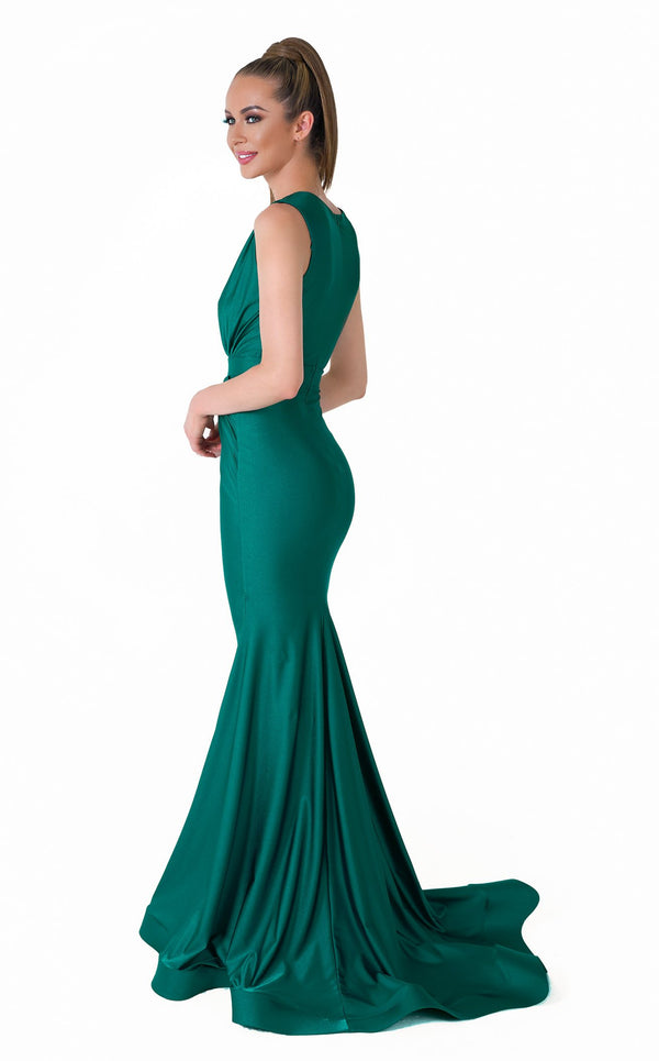 Evaje 10046 Dress Emerald